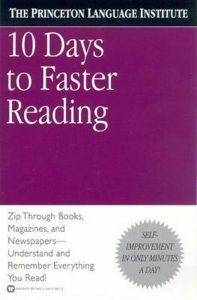 boek-omslag-10 Days to Faster Reading-Princeton