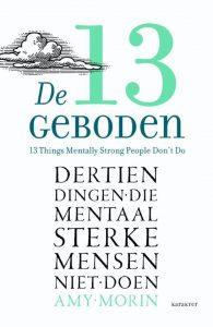 boek-omslag-De 13 geboden - Amy Morin