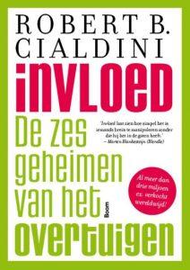 boek-omslag-Invloed - Robert B Cialdini