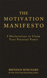 boek-omslag-The Motivation Manifesto - Brendon Burchard